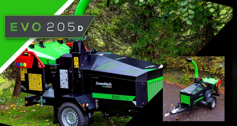 GreenMech 205D Chipper (1)